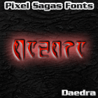 Image for Daedra font