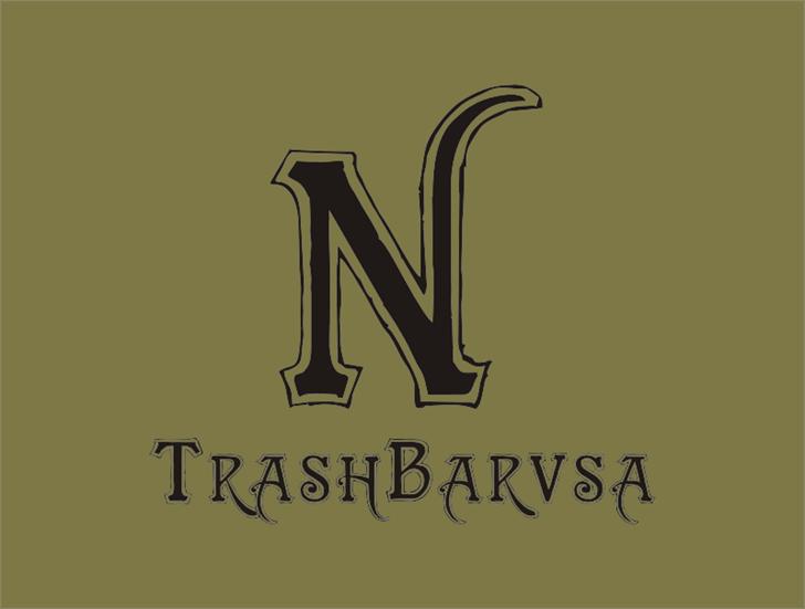 Image for TrashBarusa font