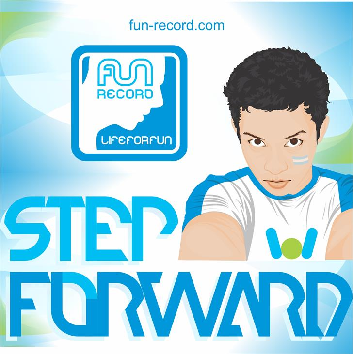 Image for step forward font