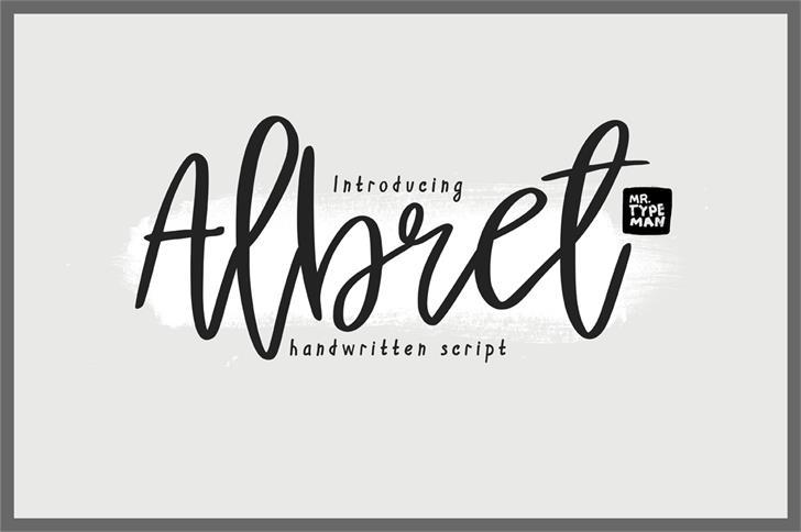 Image for Albret Demo font