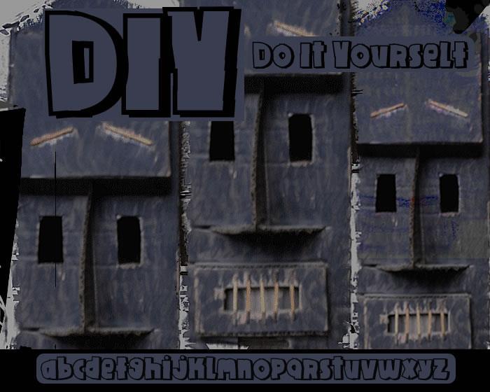 Image for DIY font