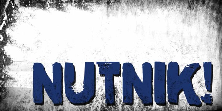 Image for DK Nutnik font