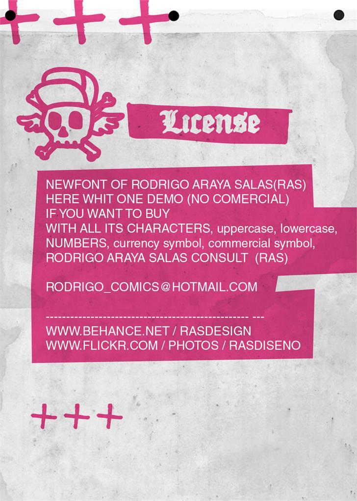 Image for Drugstore font