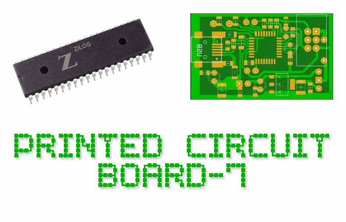 Printed Circuit Board-7 font by Style-7