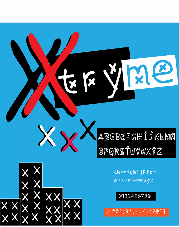 Image for xtryme font