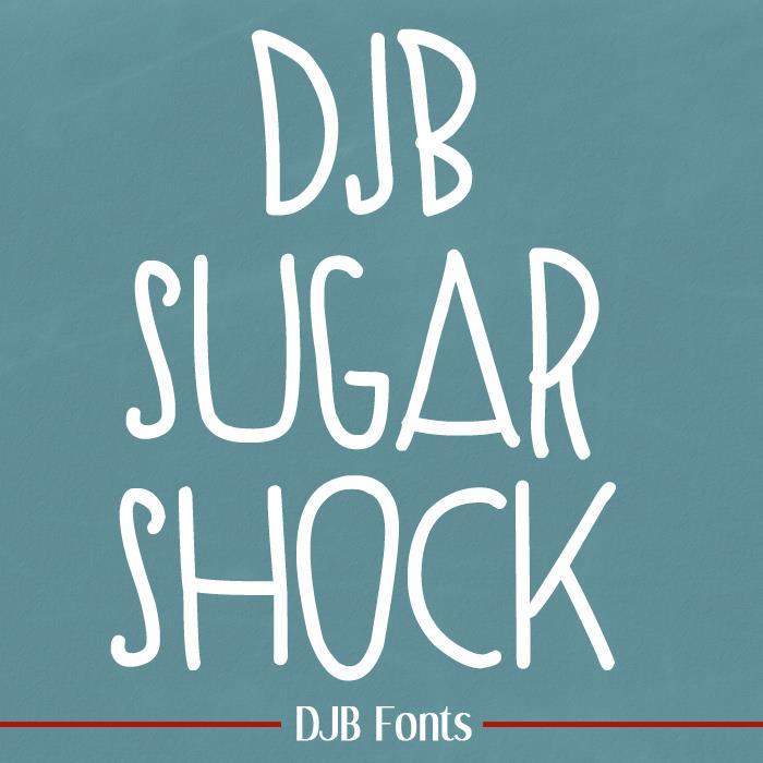 Image for SUGAR SHOCK font