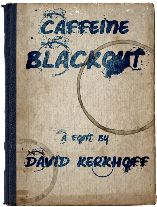 Image for Caffeine Blackout font