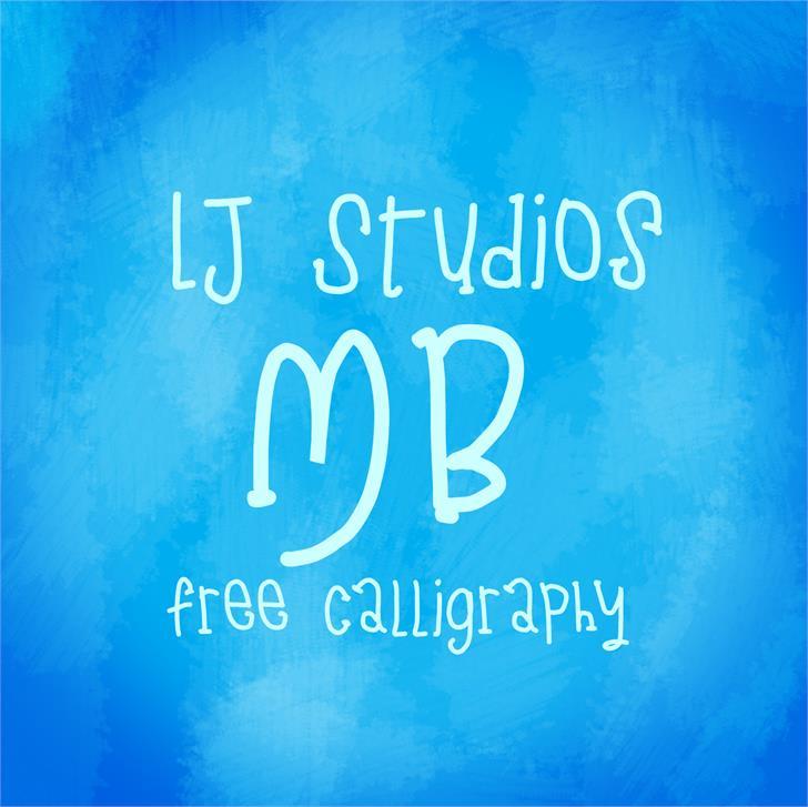 LJ Studios MB font by LJ Design Studios