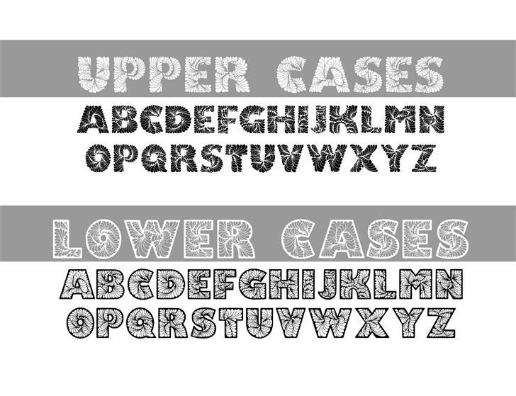 Image for DoodLeafs font