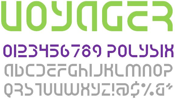 Image for Voyager NBP font
