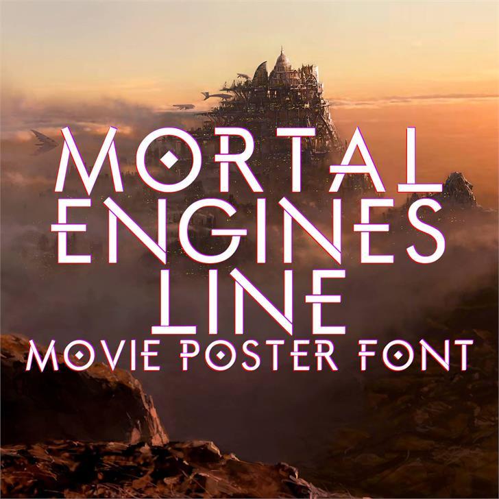 Image for Mortal Engines Line font