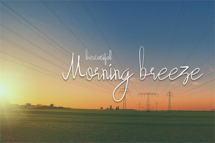 beautyforest font by wonoayu79