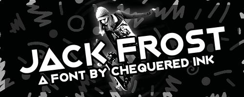 Image for Jack Frost font