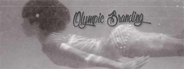 Image for Olympic Branding font