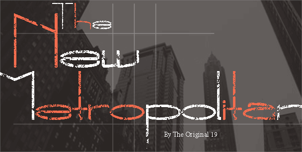 The New Metropolitan font by The Original 19