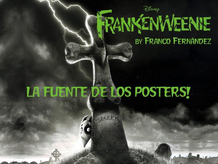 Image for FrankenweenieMoviePoster font