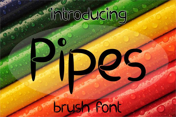 Image for EP Pipes font