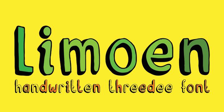 Image for DK Limoen font