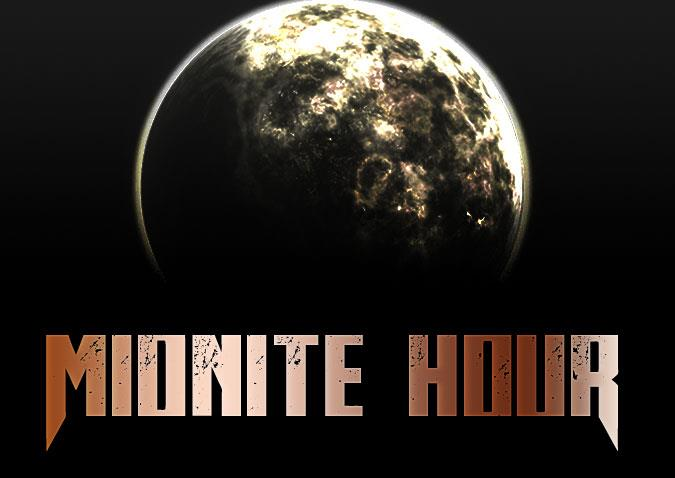 Midnite Hour font by Chris Vile