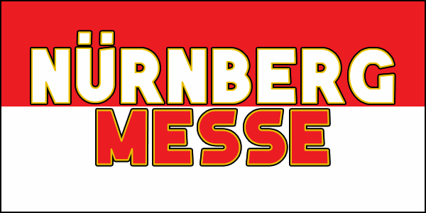 Nuernberg Messe font by Chequered Ink