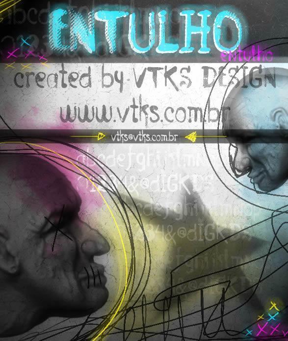 Image for Vtks Entulho font