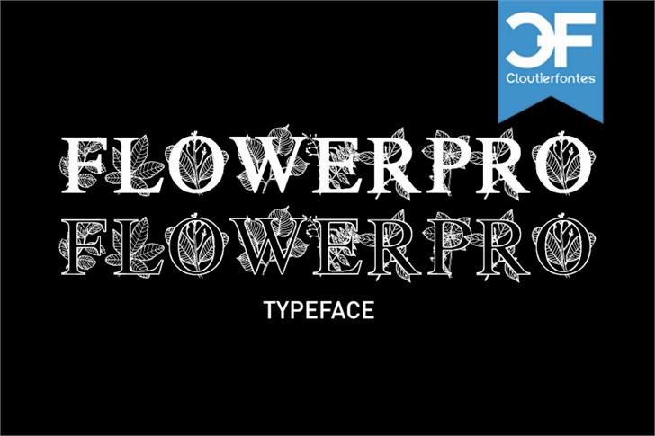 Image for FlowerProDemo font