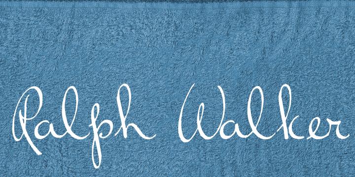 Image for Ralph Walker font