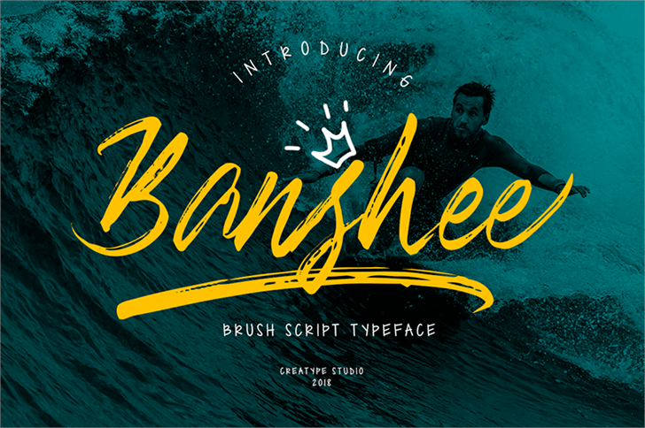 Banshee font by Creatype Studio
