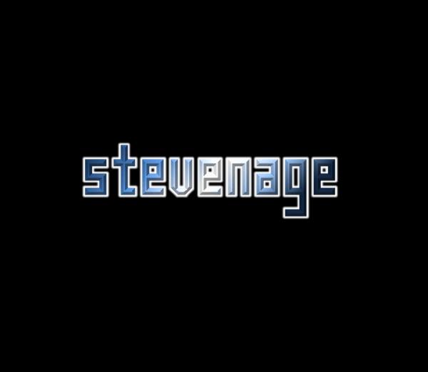 Stevenage NBP font by total FontGeek DTF, Ltd.