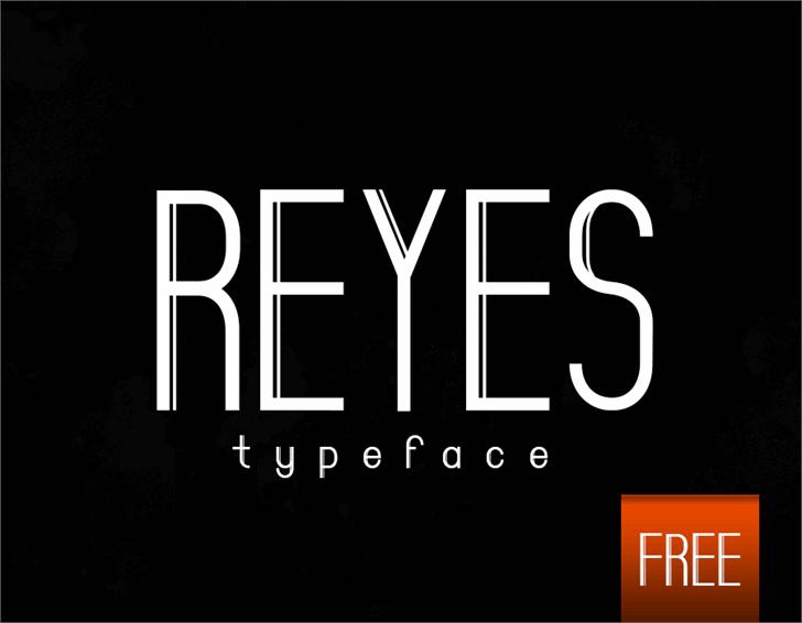 Image for Reyes font