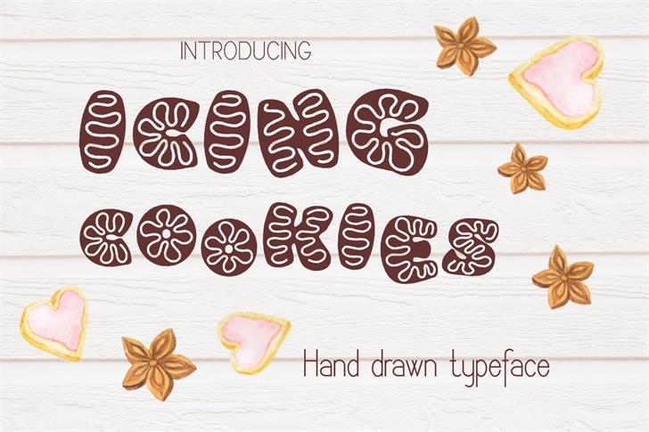 Image for Icing cookies font