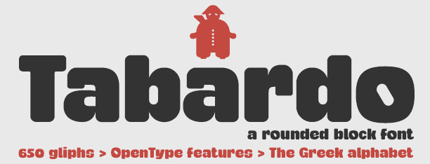 Image for Tabardo font