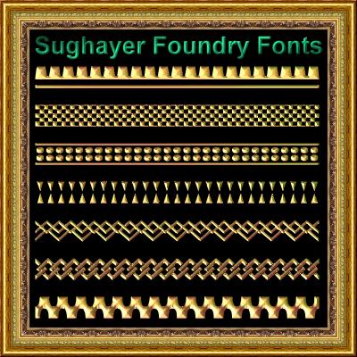 Image for Vintage Borders_017 font
