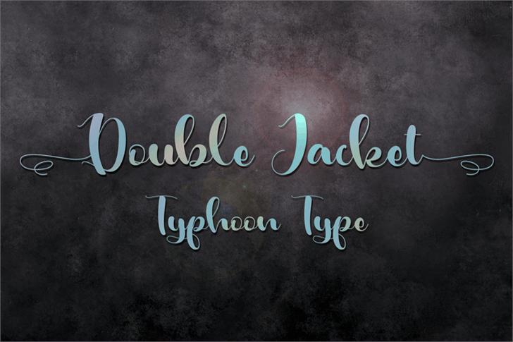 Double Jacket font by Typhoon Type - Suthi Srisopha