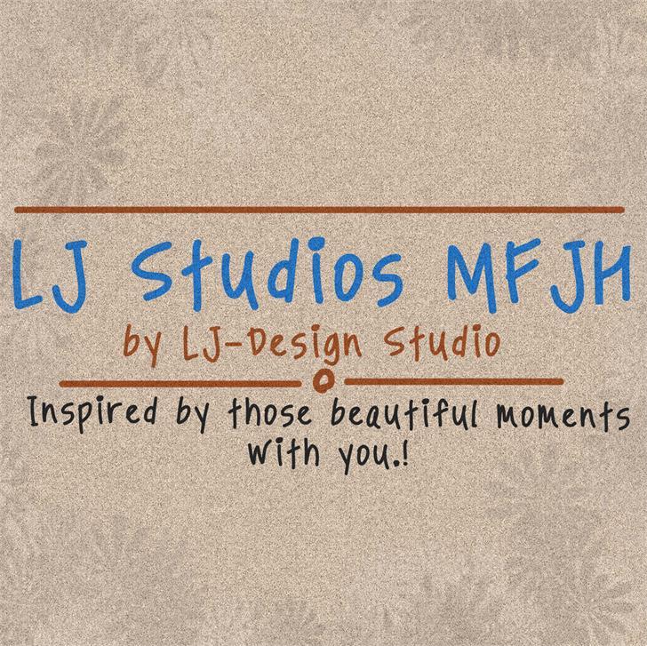 Image for LJ Studios MFJH font