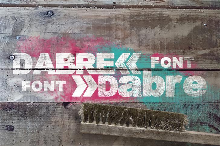 Image for Dabre Grunge font