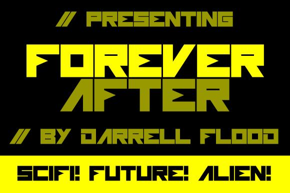 Image for Forever After font
