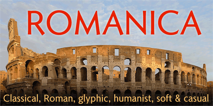 Romanica font by K-Type