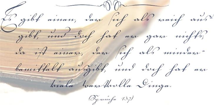 Image for 18th Century font