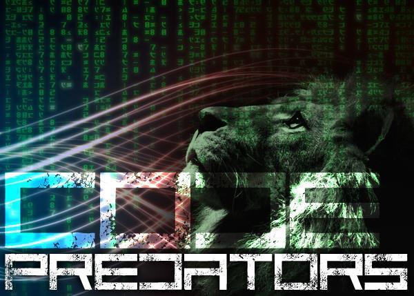 Image for Code Predators font
