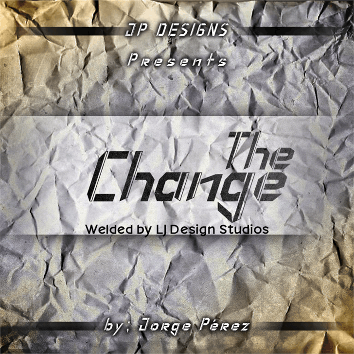 Image for The Change font