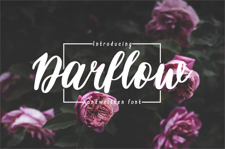 Image for Darflow font