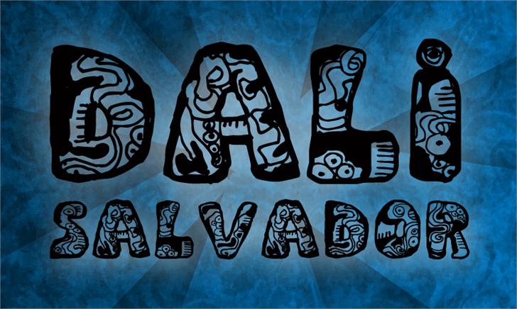 Image for Dali font