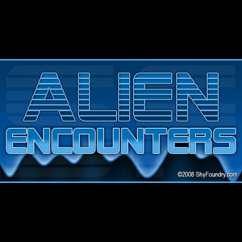 Image for SF Alien Encounters font