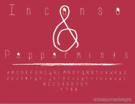 Image for IncensePeppermintsTWO font