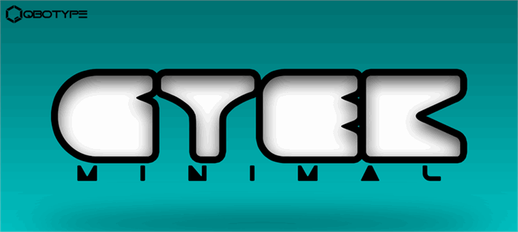 Image for Gtek Minimal  font
