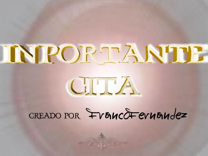 Image for InportanteCita font