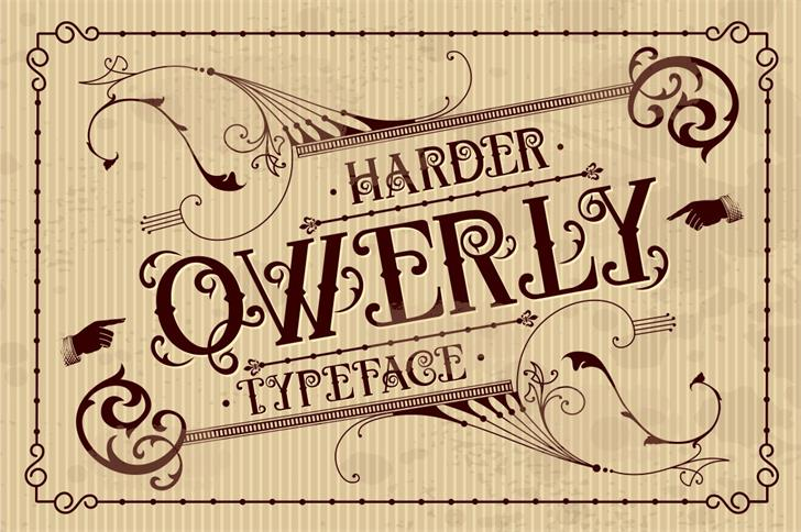 QWERLY font by Harder Type Foundry