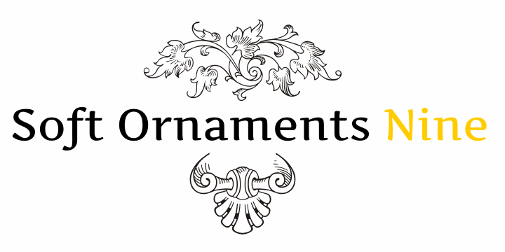 Image for Soft Ornaments Nine font