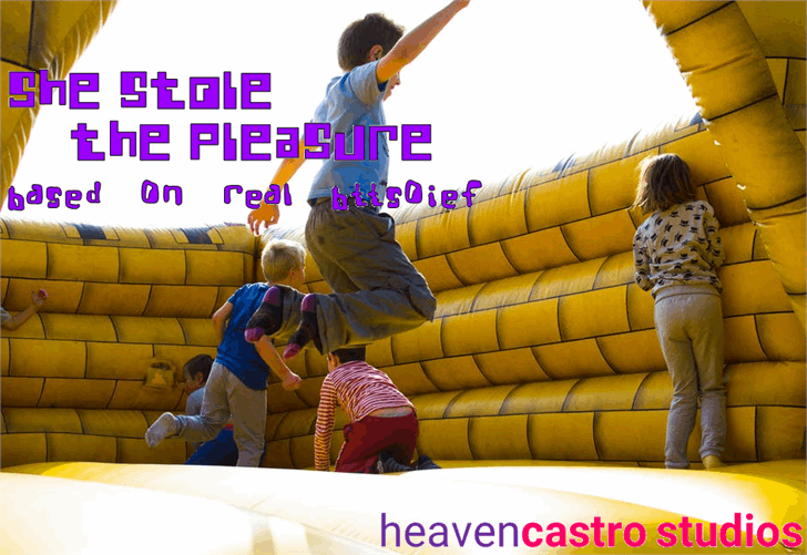 Image for She Stole the Pleasure font
